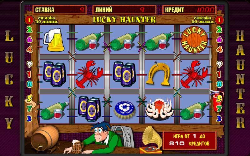 Как играть в игровой автомат Пробки (Lucky Hunter)?