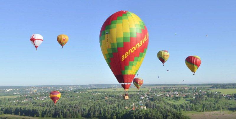 Где заказать полет на воздушном шаре в Москве?